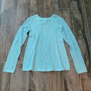 Ivivva blue sweater size 10 NEVER WORN